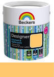 Beckers Emulsja Designer Kitchen & Bathroom funky yellow 2,5l