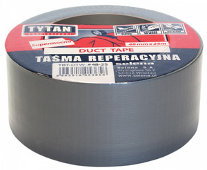 Tytan Professional Taśma Duct Tape 48mm x 50m