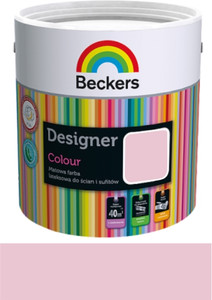Beckers Emulsja Designer Colour candy pink 2,5l
