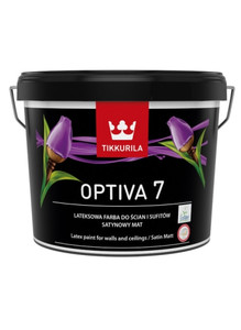 Tikkurila Emulsja Optiva  7 Satin Matt baza A biała  900ml