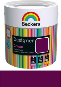 Beckers Emulsja Designer Colour burgundy 2,5l