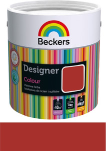 Beckers Emulsja Designer Colour cherry 2,5l