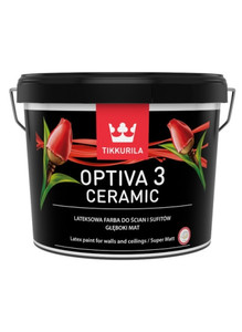 Tikkurila Emulsja Optiva  3 Ceramic Super Matt baza A biała  900ml